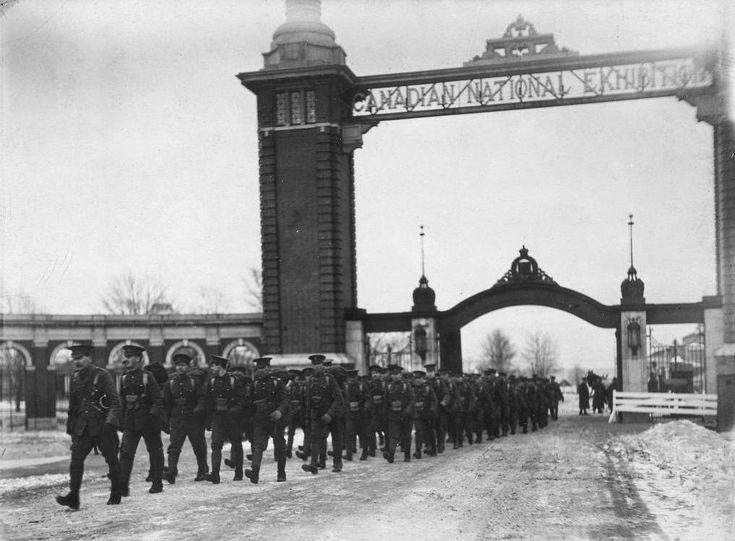 CNE main gate before The Princes Gates.