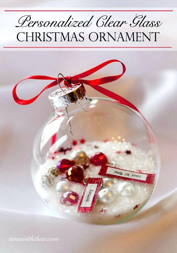 Glass Ornament Ideas Personalized Glass Ornament Crafts Pinterest Christmas Ornaments Christmas Ornaments Gifts Christmas Crafts
