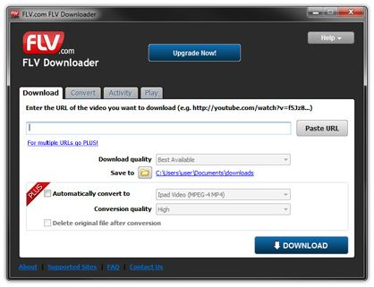 flash video downloader is a free application that helps you save online videos from over 50 video sites (YouTube, Vimeo, RedTube) to your Wi...