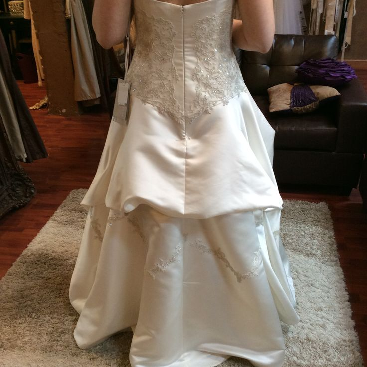 Wedding Gown Bustle Styles