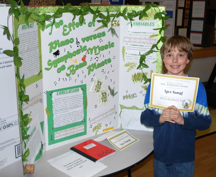 science fair projects presentation