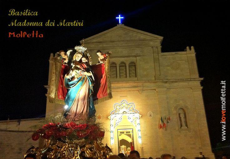 Basilica Madonna dei Martiri MOLFETTA ( Bari - Puglia - Italy ) www.ilovemolfetta.it