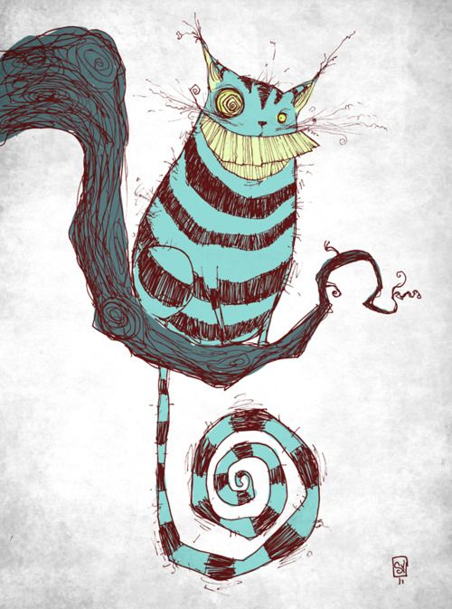 Cheshire Cat by Skottie Young