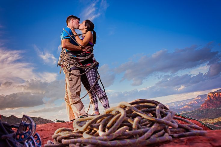 Blog — Brian Lorrigan Photography. Arizona Engagement Rock Climbing Session