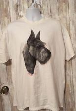 Robert J May Schnauzer Dog Tee Shirt Unisex Xl
