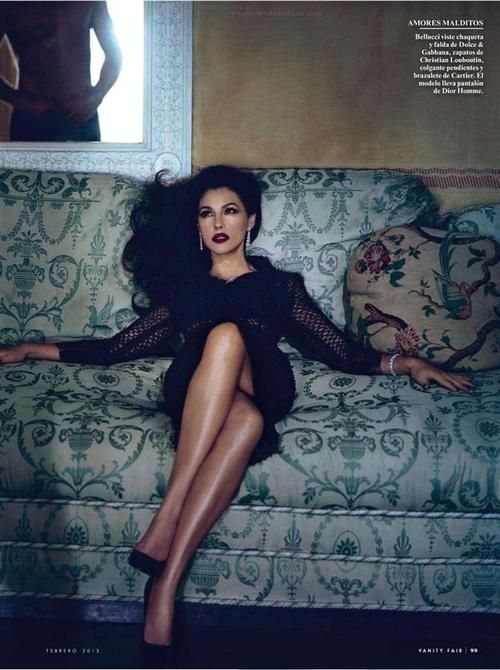 Monica Bellucci By Norman Jean Roy for Vanity Fair Espana February 2013