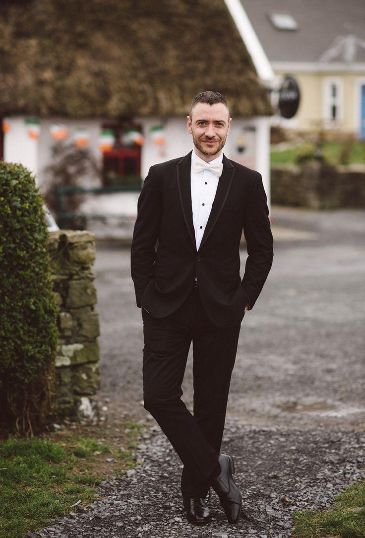 Groom, Elegant Black Tie Style