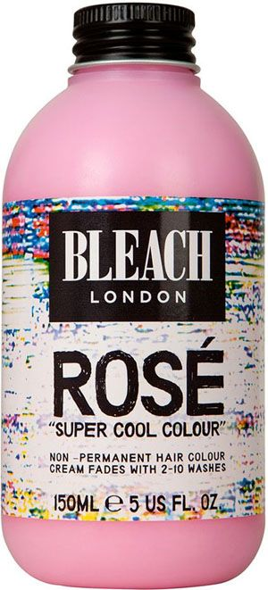 Bleach London Super Cool Colour Rose Love Sienna Millers new rose gold hair colour? Heres how to get the look at home!