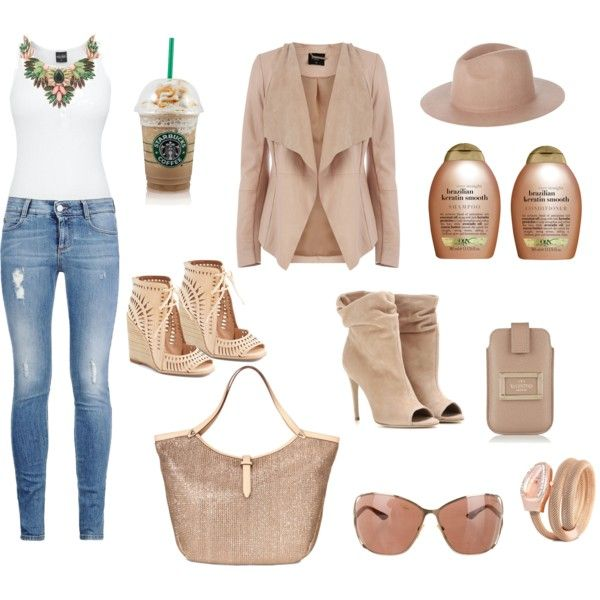 A fashion look from March 2015 featuring Oasis jackets, STELLA McCARTNEY jeans and Burberry ankle booties. Browse and shop related looks.