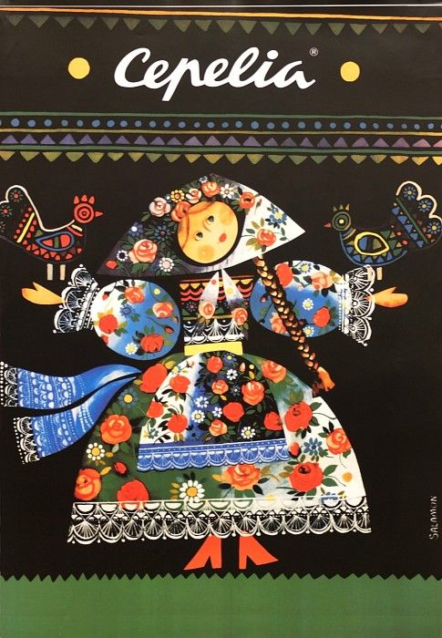 Cepelia, Folk Art, Polish Poster