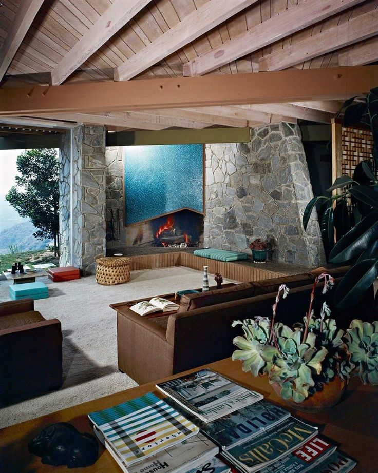 The Morgridge Residence designed by architect Howard H. Morgridge. Located in Altadena, California it was completed in 1959. Photo: Shulman / Getty
