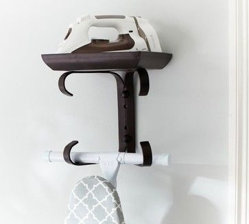 Ironing Board Hanger - traditional - laundry products - Pottery Barn $59