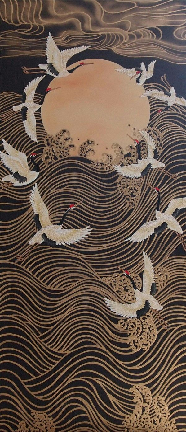 Appreciation Of Chinese Traditional Pattern Design Japan Art Chinese Wall Art Japanese Painting