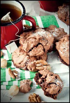 Sugar Buzz: Σοκολατένια μπισκότα με μαρέγκα