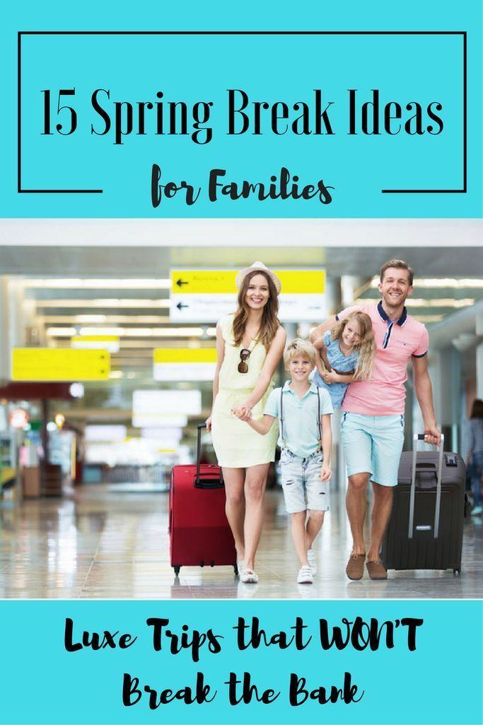 Best vacation spots during spring break-7562