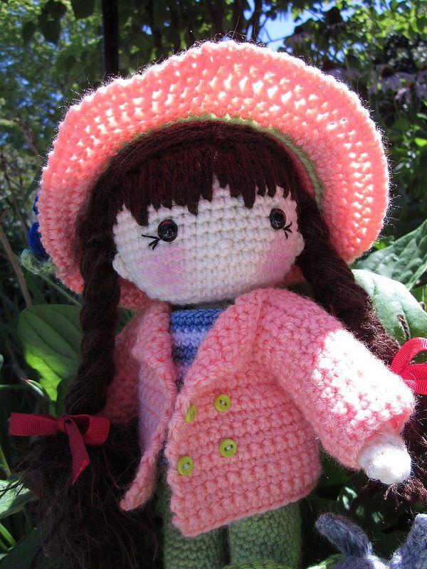 Mejores 60 imágenes de Muñecas a Crochet en Pinterest | Juguetes de ...