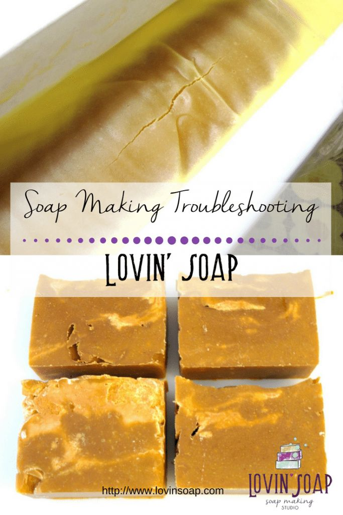 Batch of handcrafted soap not turn out right? Check out these soapmaking Troubleshooting tips!