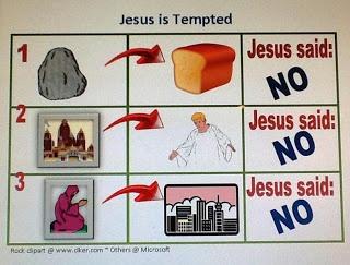 Bible Fun For Kids: Jesus is Tempted  kidsbibledebjackson.blogspot.com