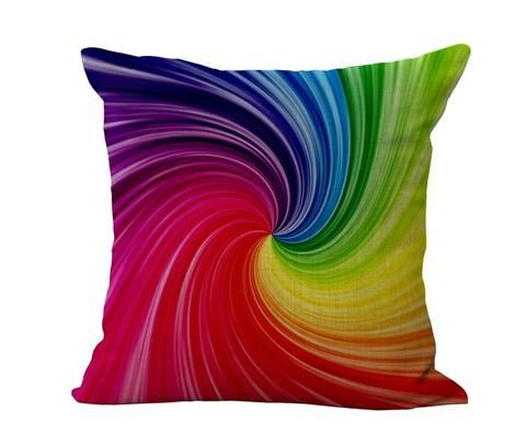 3D Cotton Linen Throw Cushion (25.2)