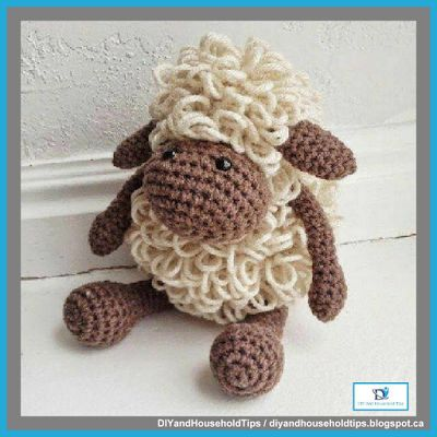 DIY And Household Tips: Crochet Sheep (FREE PATTERN)
