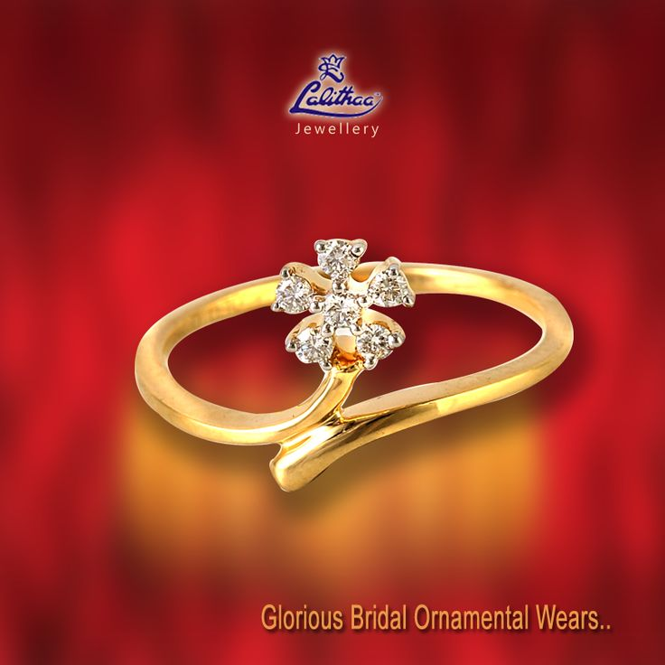 LALITHAA_JEWELLERY Diamond Rings are always preferred as a special gift for bride by bridegroom from #LalithaaJewellery.