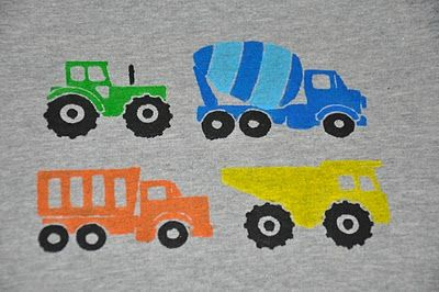 A fun/easy way for kids to design and make their own t-shirts.