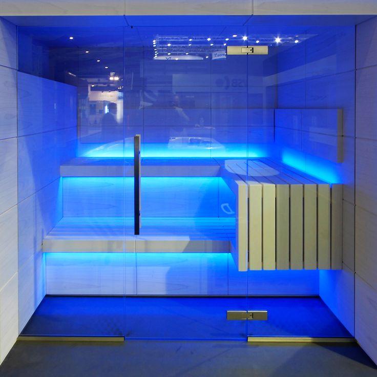 De Cube sauna ontwerp heeft een nieuwe frisse uitstraling en neemt afstand van de traditionele Finse sauna's. Een frisse wind in de saunamarkt.