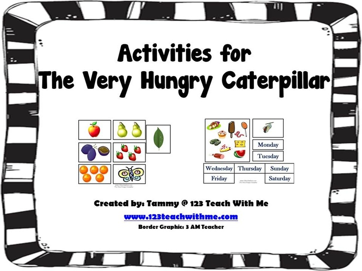 114 best The Very Hungry Caterpillar images on Pinterest