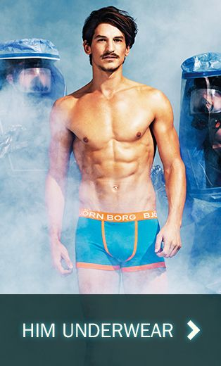 An Inspired Underwear Collection from Bjorn Borg will be available at the exhibition.