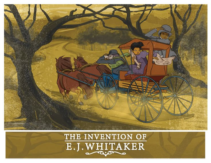 "Artwork for the comic, ""The Invention of E.J. Whitaker,"" a steampunk adventure from The Gibbs Sisters. Art by Earl Womack."