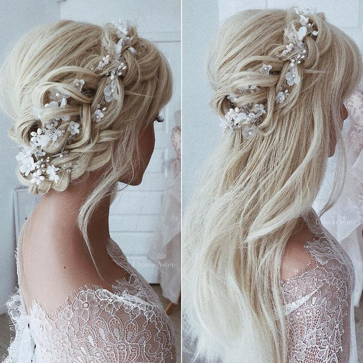 62 Wedding Hairstyles from Ulyana Aster to Get You Inspired- #weddings #weddinghairstyles #hairstyles #weddingideas . Strapless Wedding Dress Hair Up Or Down | Wedding Hairstyles Half Up Half Down | Wedding Hair Extensions Buns. #bride #Summer Wedding Dresses. Click image for more details.