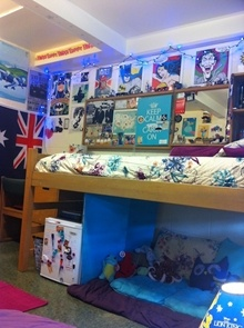Allen Hall Resident Room. University HousingDormHall Part 96