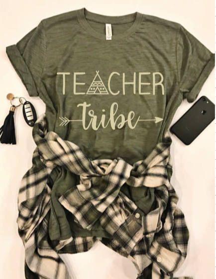 Teacher Tribe Favorite Tee, Teacher Tee, End of Year Gift, Teacher Gift, School Gift
