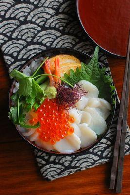 帆立丼弁当 | 日本の片隅で作る、とある日のお弁当
