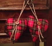 tartan decorations
