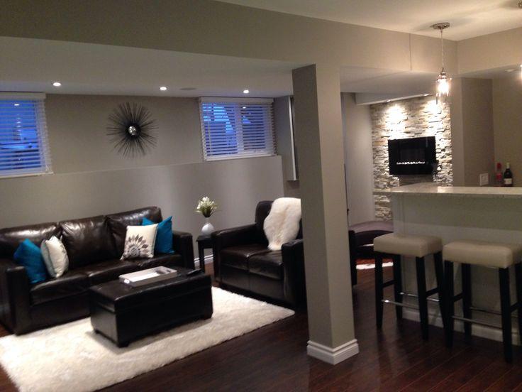 Basement Family Room : Basement family room  Decorating  Pinterest