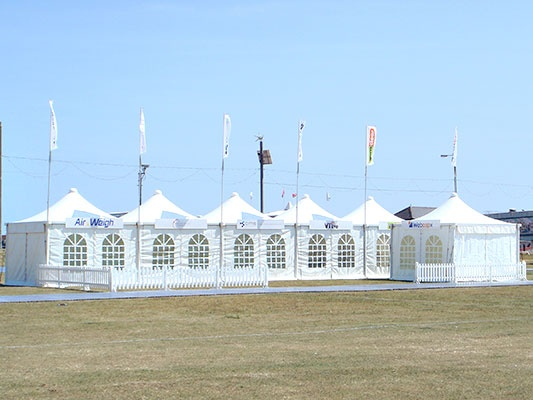 Tentage at the Plant and Waste Recycling Show - PAWRS