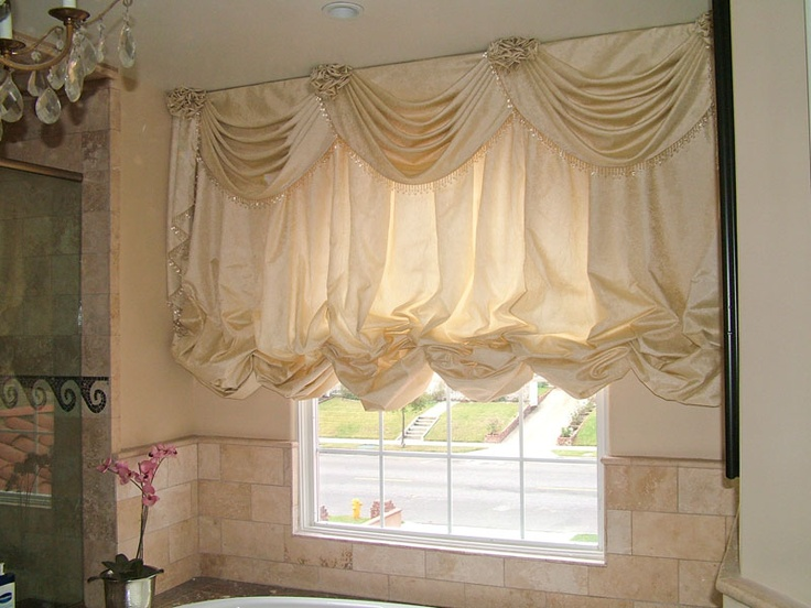 Swags And Cascades And Rosettes With Beaded Trim Edges