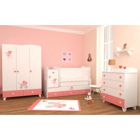 İlknur Bebe Pinky Bebek Odası Takımı