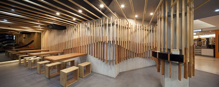 Sushi Hub restaurant by rptecture architects, Sydney