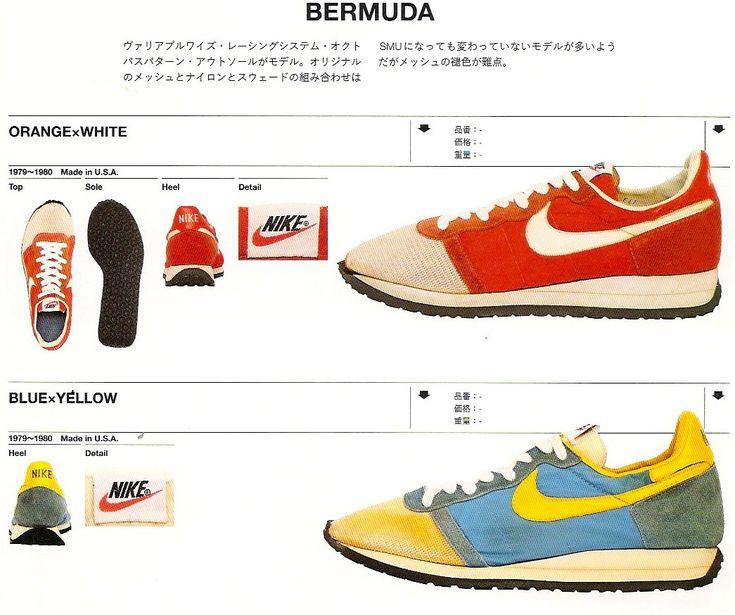 Nike Vintage Shoe Database