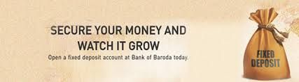 bank of baroda fixed deposit interest rates