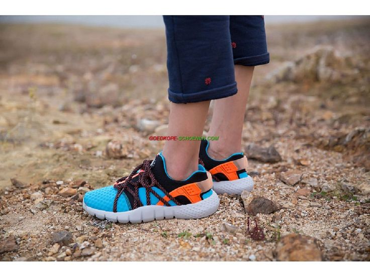Nike Air Huarache NM Dames Schoenen Lagune Blauw/Karmozijnrode/Zwart/Grijs/Wit