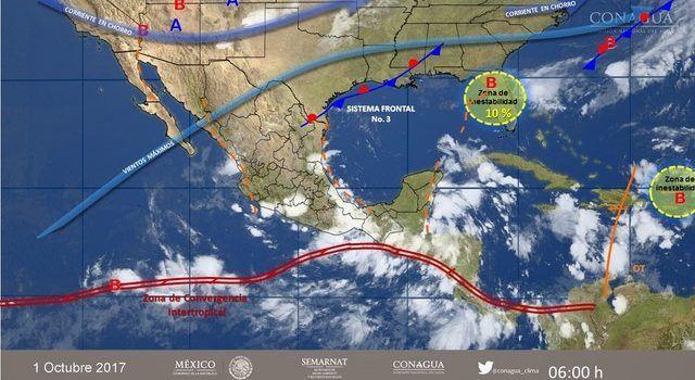 Pronóstico Meteorológico General No. Aviso 547. - Informativo La Región (Comunicado de prensa)