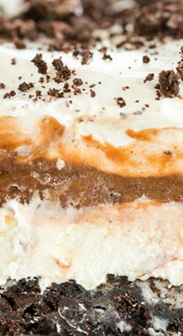 No Bake Oreo Layer Dessert