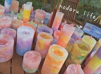 かわいい手作りキャンドルが激安です。 - Nodaru Life