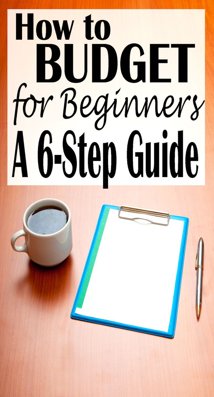 6 steps to making the most out of budgeting and organizing your personal finances.
