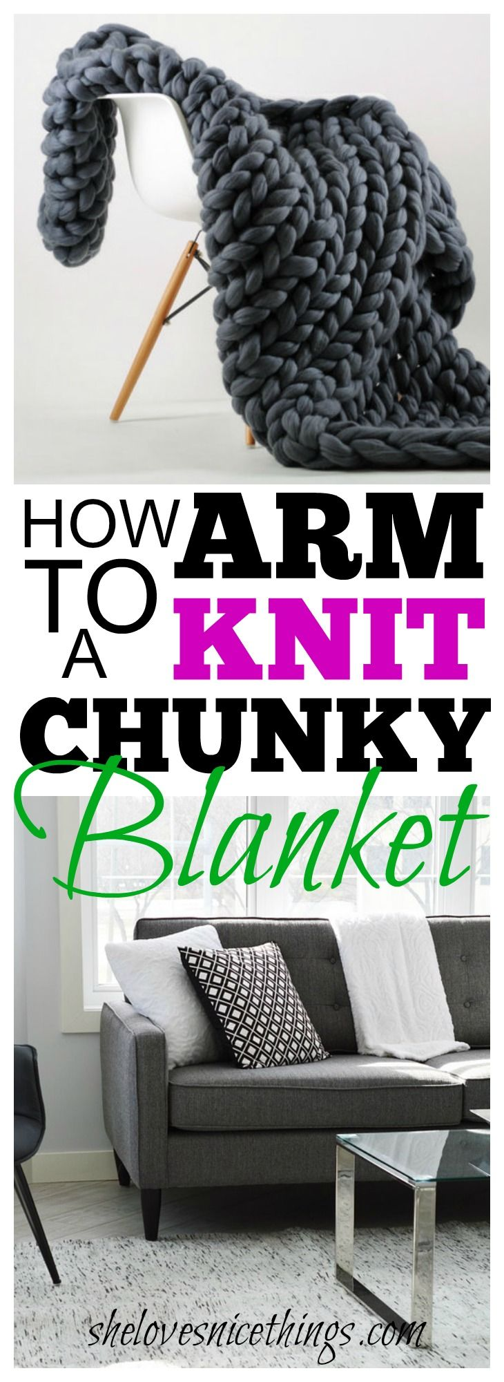 These #blankets very often retail for upwards of $200. Making your very own is super quick and super easy! #lifestyle #diyhomedecor #homedecor #homedecorideas