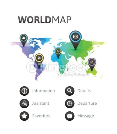 10 best labels call outs images on pinterest infographic geometric triangle infographic world map of rainbow color isolated gumiabroncs Gallery