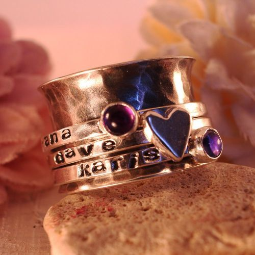 Sterling Silver Birthstone Spinner Ring from Silver Little Star  http://www.littlesilverstar.co.uk/ourshop/prod_3691213-Sterling-Silver-Birthstone-Spinner-Ring.html